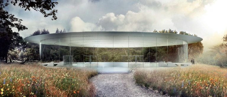 new video and floor plans of the Apple Campus 2 auditorium
