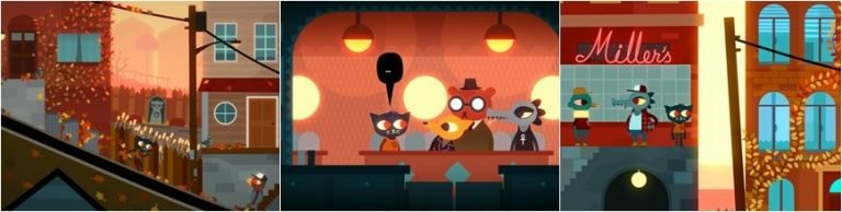 Night in the Woods, an interesting independent game available for macOS