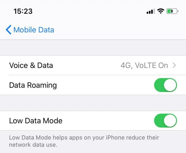no way to access data from an iPhone with iOS 8 or later