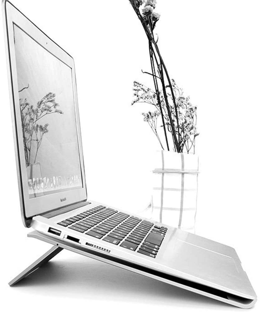 Notebook stand, silver color: Amazon.com: Computers