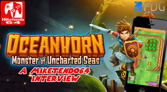 Oceanhorn, iOS game with touches of Zelda: Wind Waker