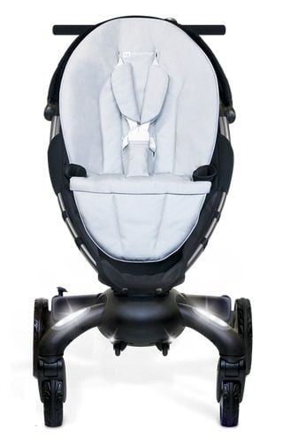 Origami, the baby carriage that recharges your mobile and unfolds and collects itself