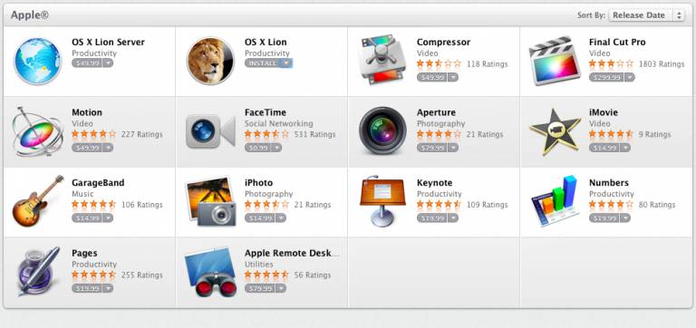 OS X Server now available on the Mac App Store