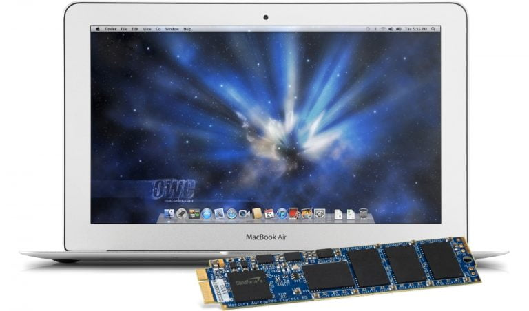 OWC introduces its SSD storage unit compatible with the new MacBook Air (June 2012)