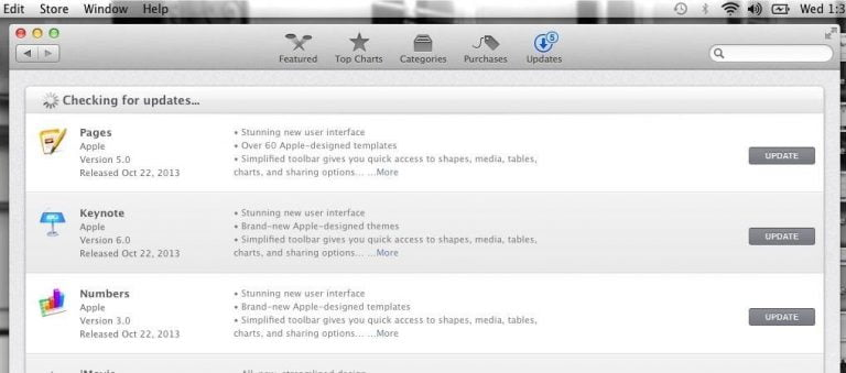 Pages in Mac App Store