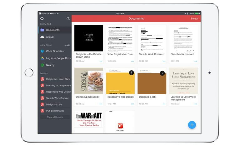 PDF Expert comes to the Mac, a great PDF manager and editor