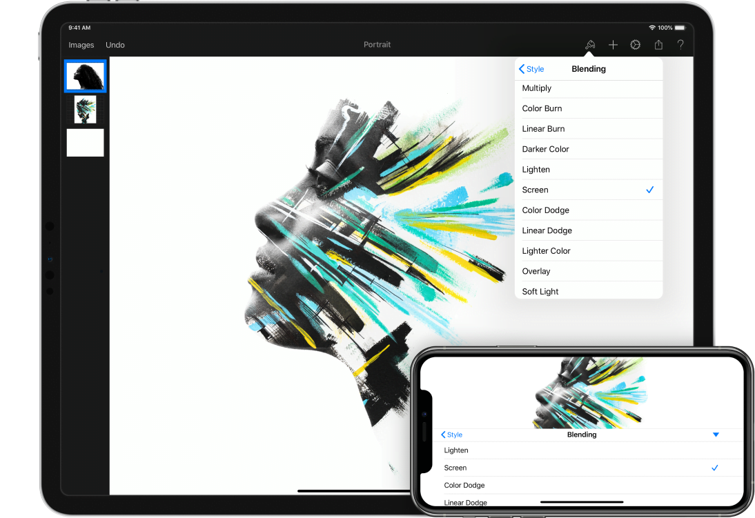 Pixelmator, great update with support for iOS 9 and multitasking on the iPad