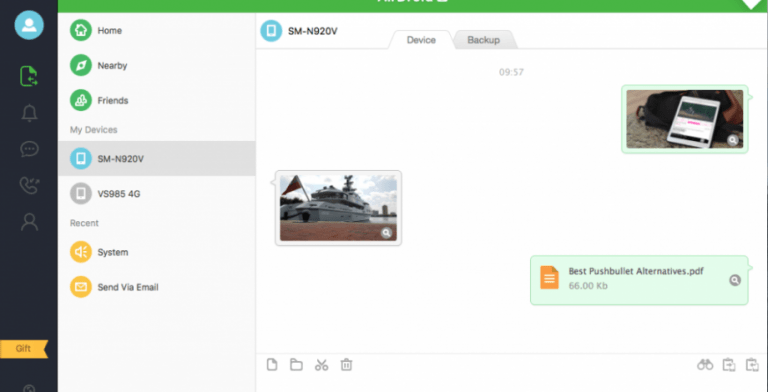 Pushbullet, a more than useful application