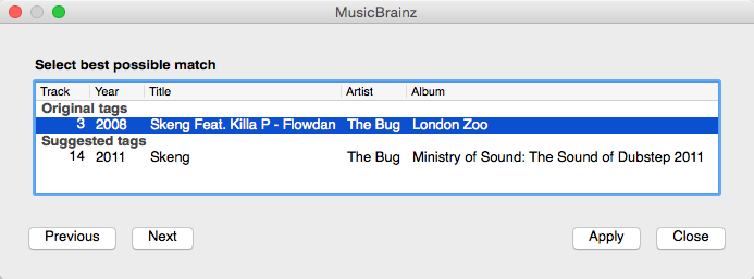 Queuing a song in the iTunes random session