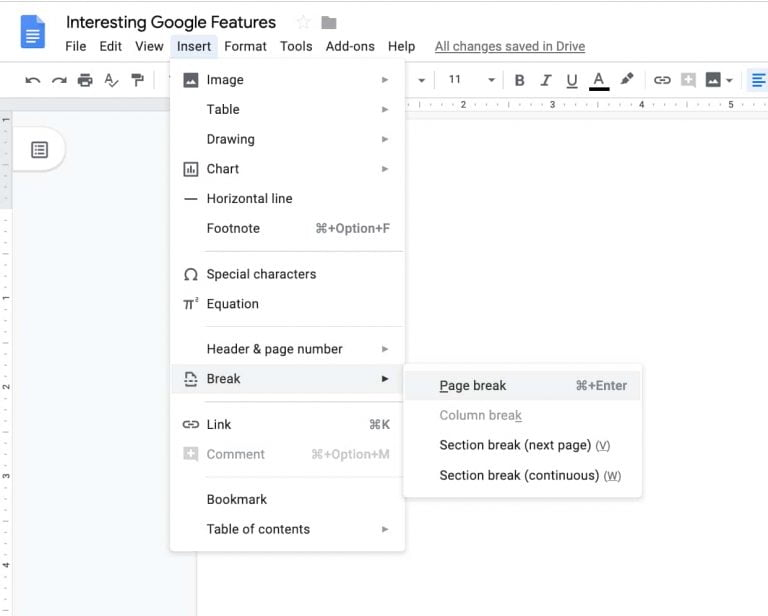 Search your Google Docs or Google Bookmarks from your Mac