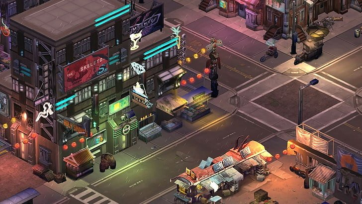 Shadow Cities, a futuristic MMORPG for iOS