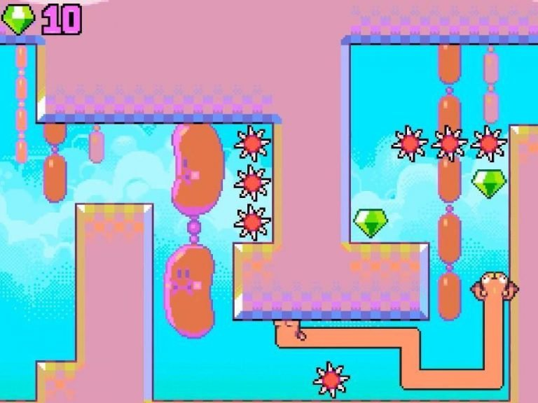 Silly Sausage is a new Nitrome game that deserves all your attention