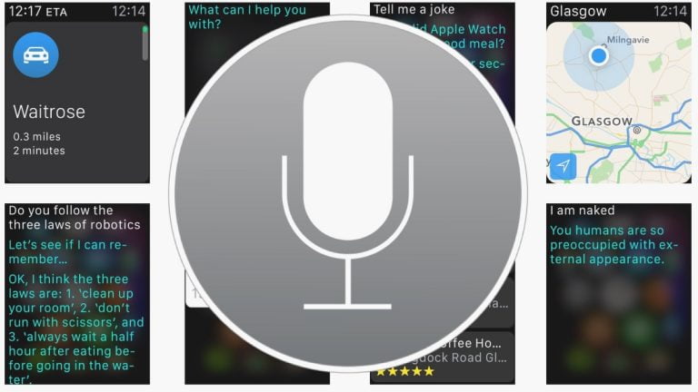 Siri starts joking with Google Glass in her answers