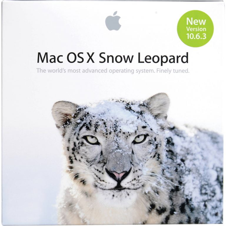 Snow Leopard Box Set filtered by Apple's own website