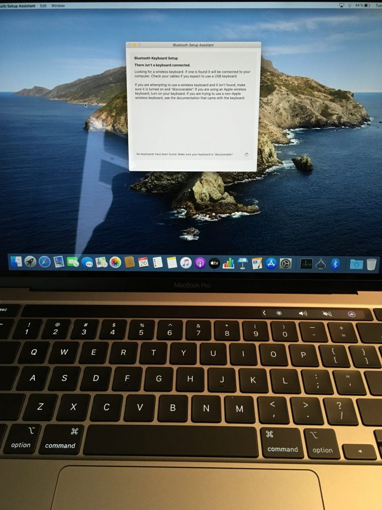 Some Macbook Pro 2016 with Touch Bar users experience keyboard problems