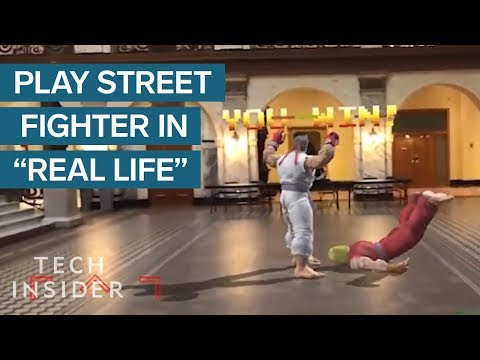 Soon you will be able to play Street Fighter in Augmented Reality, thanks to ARKit