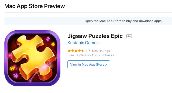 Special free games for Mac: Puzzles