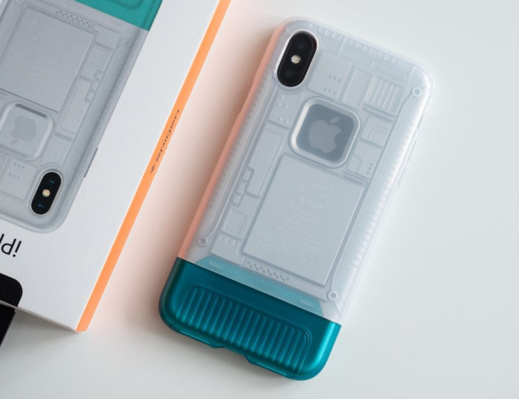 Spigen's new iPhone X cases are inspired by the design of the original iMac G3