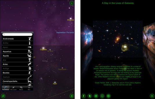 Star Walk, a walk through the stars on your iPad: In Depth