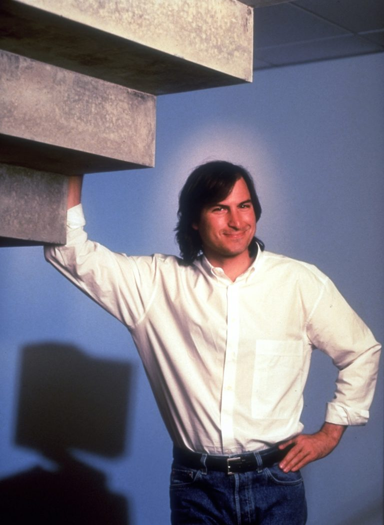 Steve Jobs worked his way through the development of the television