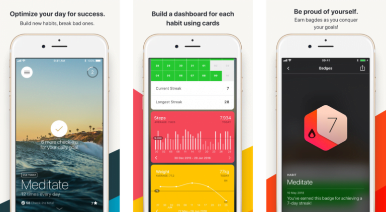 Streaks, the app to improve our habits, is now available for Mac