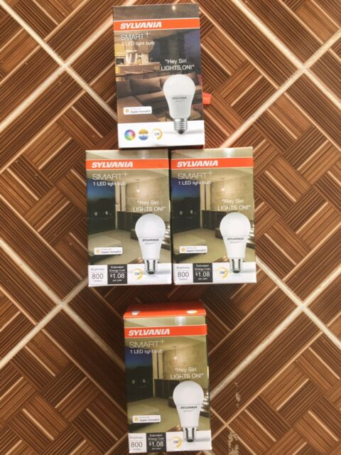 Sylvania Smart+ A19, the new HomeKit compatible bulbs are now on sale