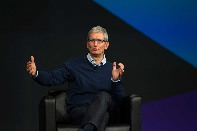 that was the interview with Tim Cook