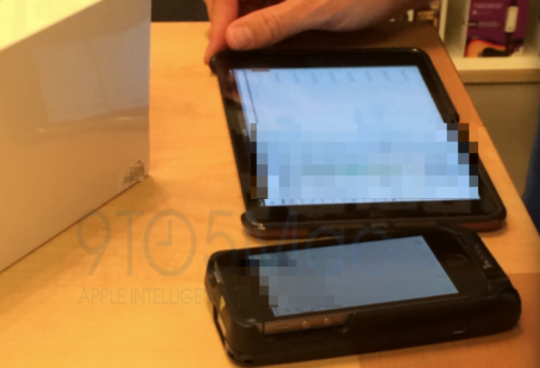 The Apple Store abandons iPod touch as a charging device to adopt the iPhone 5S