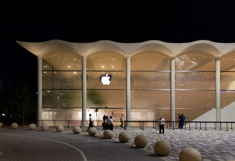 The Apple Store in Aventura, Florida, will move to a large outdoor pavilion
