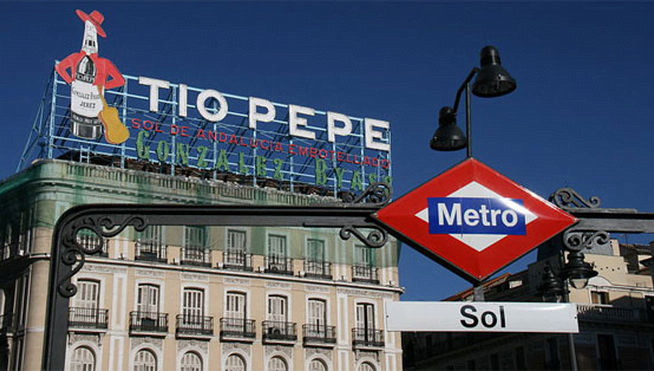 the Apple Store in the centre of Madrid will be in the Tio Pepe building
