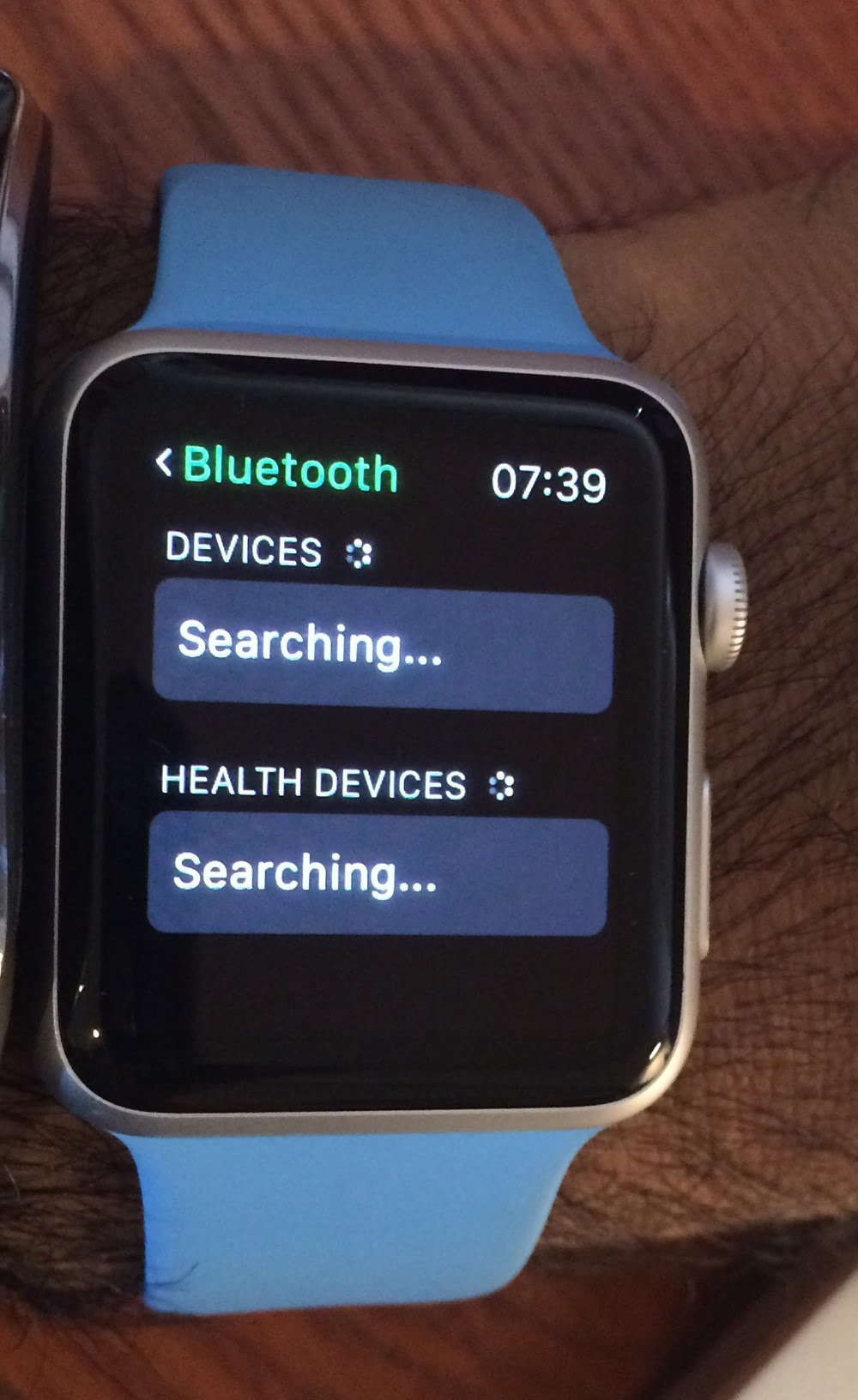 the Apple Watch and its possibilities for monitoring blood glucose