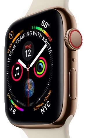 The Apple Watch Series 4 will have a new design, with 15% more screen and new sensors