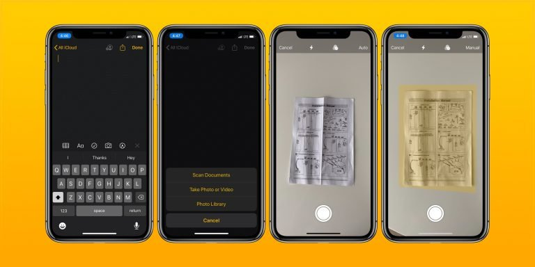 The best iOS apps for sharing notes