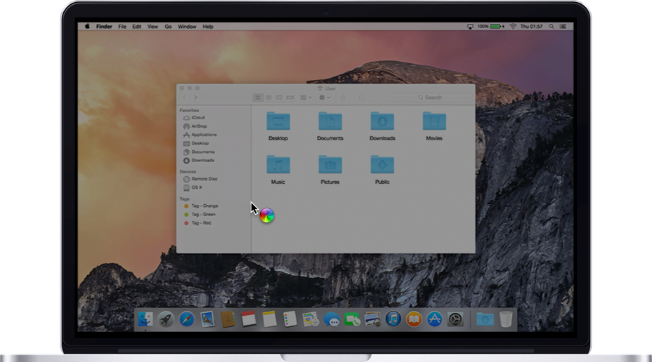 The change in behavior of the power button in Macs and OS X Mavericks
