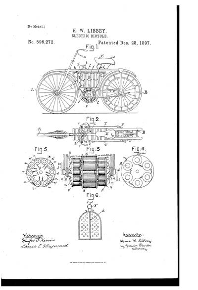 the company patents an electric motor