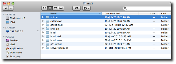 The different types of rest in OS X