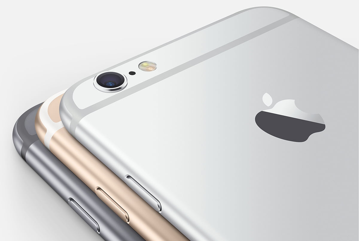 The iPhone 6 and 6 plus are equipped with two independent accelerometers