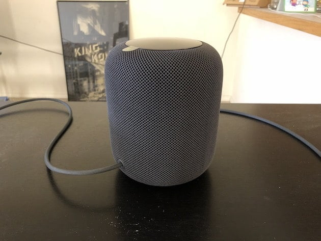 The launch of the HomePod in Germany, France and Canada reveals its price in euros