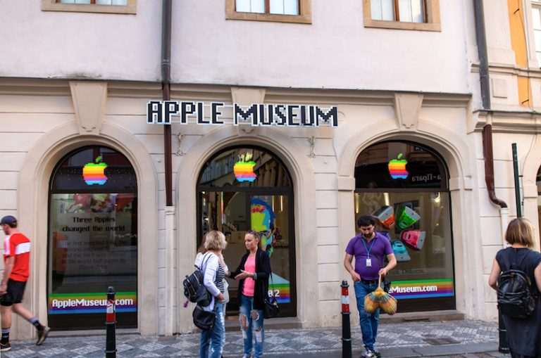 The new Apple Museum in Prague displays the largest private collection of Apple products