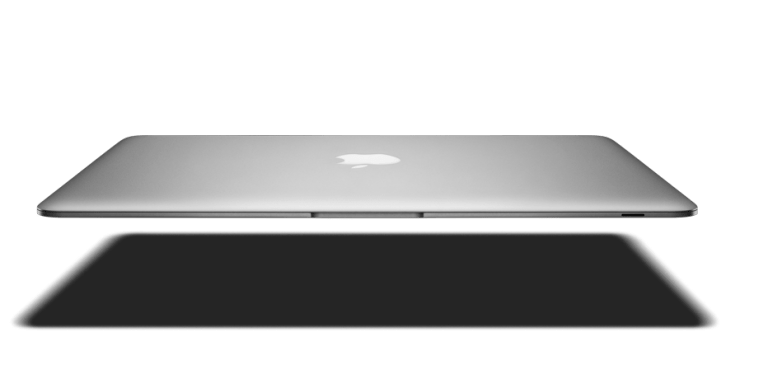 The new MacBook Air does not have an infrared port