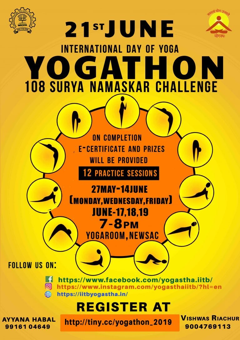 The next challenge will be on the occasion of International Yoga Day
