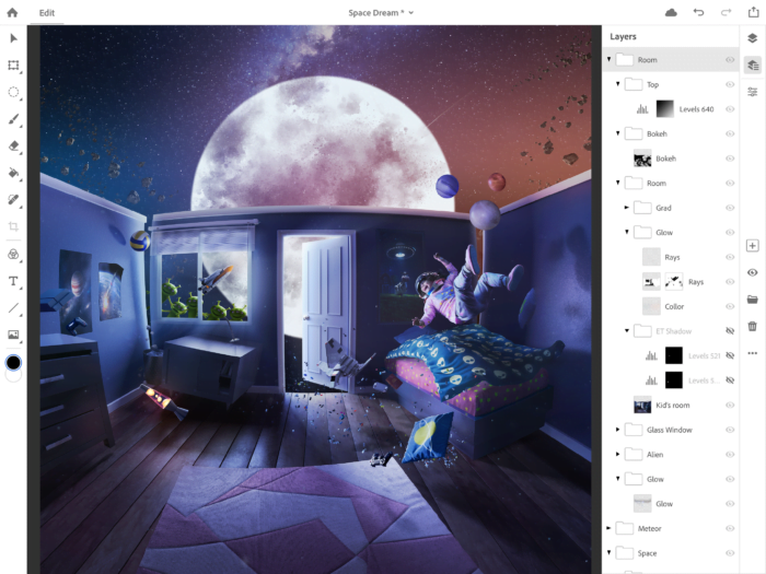 The Photoshop Touch App for iPad Receives an Update