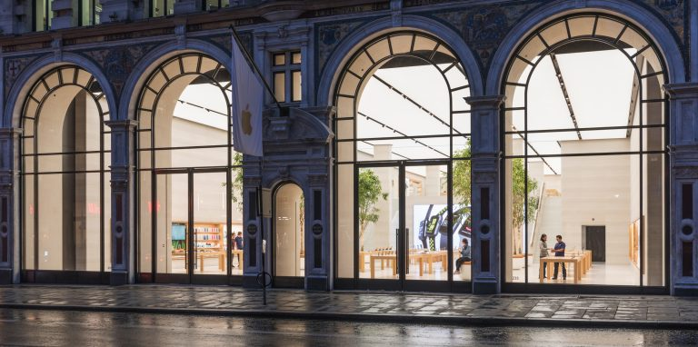 the Regent Street Apple Store in London will be remodeled