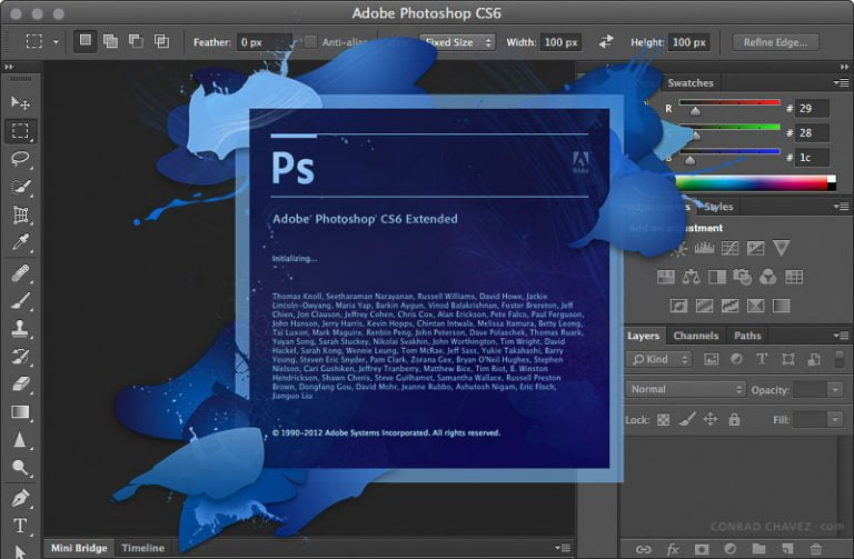 The six Adobe Creative Suite CS3 packages