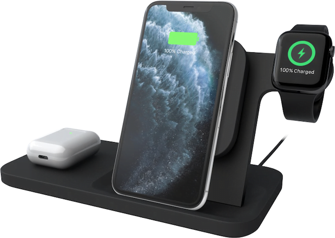 the wireless charger to charge everything