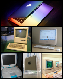 They use a Macintosh Plus as a dock for the iPad: this is the result