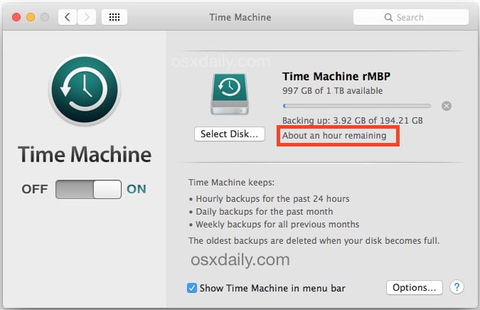 Thinning your iOS backup