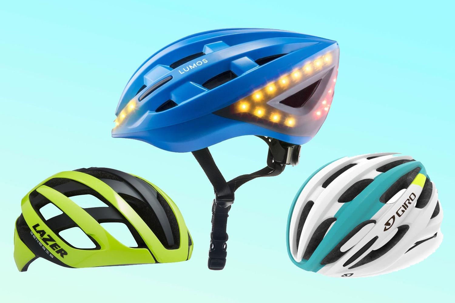 This bike helmet monitors your health and has turn signals that are activated by your Apple Watch