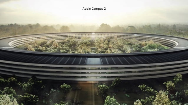 this is the evolution of the Apple Campus 2