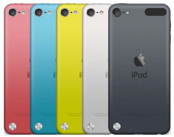 this is what an iPod touch without a home button looks like
